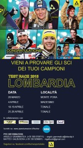 Ski Test Fischer Race Lombardia 2015 - pianetamaster